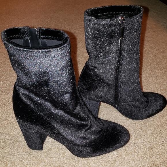 de41e97cb739e8 Sam Edelman Velvet boots